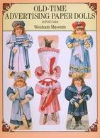 Old-Time Advertising Paper Dolls Par Dover USA (Poupée à Habiller) - Enfants