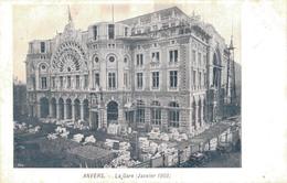 ANVERS / LA GARE En JANVIER 1903 - Antwerpen