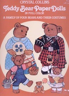 Teddy Bear Paper Dolls By Crystal Collins Dover USA  (Poupée à Habiller) - Enfants