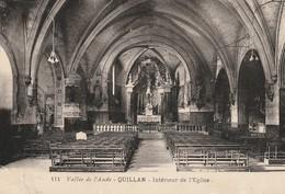 Quillan - L'Intérieur De L'Eglise - Autres Communes