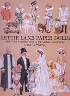 Lettie Lane Paper Dolls By Sheila Young Dover USA (Poupée à Habiller) - Enfants