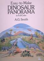Dinosaur Panorama By A.G. Smith Dover USA (sujet à Habiller) - Enfants