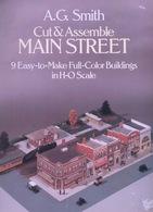 Cut & Assemble Main Sreet ByA.G. Smith Dover USA  (Ville à Construire) - Enfants
