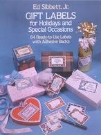 Gift Labels By ED Sibbett, Jr. Dover USA (autocollants) - Enfants
