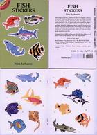Fish Stickers By Nina Barbaresi Dover USA (autocollants) - Enfants