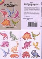 Little Dinosaur Stickers By Anna Pomaska Dover USA (autocollants) - Enfants