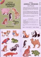 Little Animal  Stickers By Nina Barbaresi Dover USA (autocollants) - Enfants