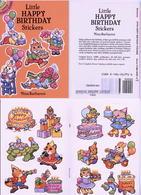 Little Happy Birthday Stickers By Nina Barbaresi Dover USA (autocollants) - Enfants