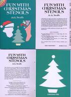 Fun With Christmas Stencils (petits Livre Pochoirs) Dover USA - Enfants