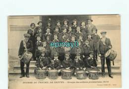 44 - NANTES - Bourse Du Travail - Groupe Des Enfants Prolétariens 1914 - Fanfare - Nantes