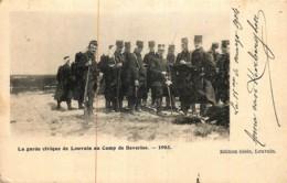 Belgique - Camp De Beverloo - La Garde Civique De Louvain Au Camp De Beverloo 1903 - Leopoldsburg (Beverloo Camp)