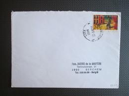 Nr 2253 - Opéra Royal De Walonie - Alleen Op Brief Uit Lier Naar Berchem - Covers & Documents