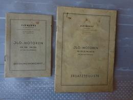 2 Livrets J L O Moto Fm 100-fm120 - Publicités