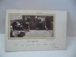 BEETHOVEN BASLESTRIERI CPA BALBOANI BOSIO EDITORI VICENZA - Cantantes Y Músicos