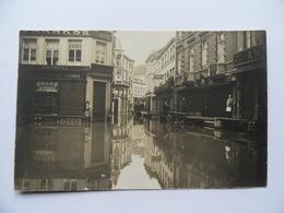 A VOIR! HUY VERITABLE CARTE-PHOTO INONDATIONS 1926. Prés De Ampsin Et Statte. Voir Les 2 Scans. Bon état - Huy