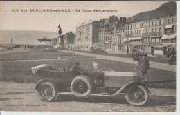 BOULOGNE SUR MER La Digue Sainte Beuve ( Voiture En Gros Plan ) - Boulogne Sur Mer
