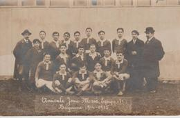 BAYONNE  Amicale Jean Macé , équipe ( 1) Bayonne 1914 - 1915 Carte Photo - Bayonne