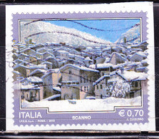 Italia 2013-Scanno -Usato-frammento Simile - 2011-...: Oblitérés