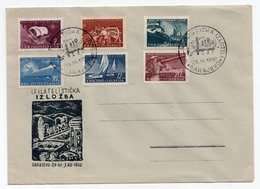 1950 YUGOSLAVIA,BOSNIA,SARAJEVO,SPECIAL COVER&SPECIAL CANCELLATION:17.02.1984.FILATELIST EXHIBITION SARAJEVO - Covers & Documents