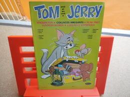Tom Et Jerry Sticker Fun, Collages Amusant Whitman, Rare..3C0420 - Autocollants