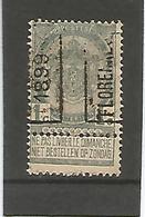 België Handrol Voorafstempeling 213 A Florennes 1899 - Roller Precancels 1894-99