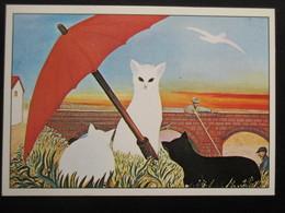 CPM  CHAT Illustrateur Ou Illustration Ferdinand DESNOS Né à Pontlevoy  (CAT Postcard Illustration Or Drawing) - Cats