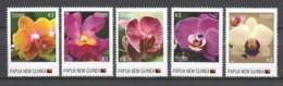 Papua New Guinea MNH Set 1 - FLORIADE 2012 - ORCHIDS - Orchids