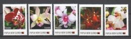 Papua New Guinea MNH Set 2 - FLORIADE 2012 - ORCHIDS - Orchids