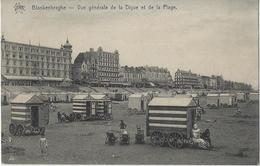 Blankenberghe.   -     Vue Générale De La Digue Et De La Plage - Blankenberge