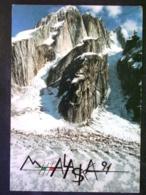CARTOLINA -SPEDIZIONE ALPINISTICA ALASKA -F.G. LOTTTO N°1002 - Ansichtskarten