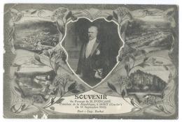 BORT (Corrèze,19) Souvenir Du Passage De M. POINCARÉ, Président De La République 11 Septembre 1913 - Autres Communes