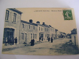C.P.A. Bouaye (44) - Rue De La Mairie - 1922 - SUP (CU 12) - Bouaye