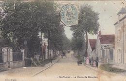 CPA - St-Chéron (Saint-Chéron) (91) Essonne - La Route De Dourdan - Saint Cheron