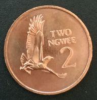 ZAMBIE - ZAMBIA - 2 - TWO NGWEE 1983 - KM 10a - Kenneth Kaunda - Zambia