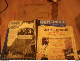LA REDOUTE : Catalogue 1934-1935 Rare Ensemble Avec Son Enveloppe D'envoi - VPC Roubaix - Textile & Vestimentaire