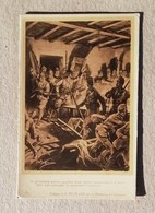 Cartolina Illustrata Alpini In Azione, Disegno A. Beltrame - Guerra 1914-18