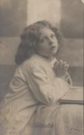 Enfants - Portrait - Prière - Glaube - Postmarked Rickelshausen 1906 - Portraits