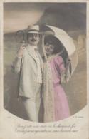 Couples - Fantaisies - Amoureux Vent Parapluie - Bains De Mer - Mode Costumes - Auto Chemin De Fer - Couples