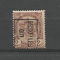 België Handrol Voorafstempeling 315 B Bruxelles 00 - Roller Precancels 1894-99