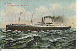 Red Star SS Menominee - Steamers