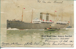 Red Star SS Zeeland - Steamers