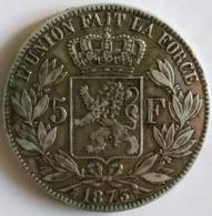 5 Francs Leopold II 1873 TTB - 09. 5 Frank
