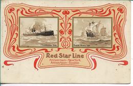 Red Star Line Vaderland Santa Maria - Steamers