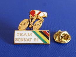 Pin's Team Bonnat 91 - Essonne Montlhéry - Vélo Cyclisme Course - Zamac Ballard (PP4) - Radsport