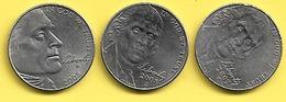 Monnaie USA  FIVE CENTS Commemorative 2005 2007 2008 Plat03 - Central America
