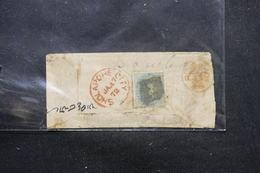 INDE - Affranchissement Plaisant  Type Victoria De Sholapore City Sur Enveloppe En 1872 - L 57708 - 1858-79 Crown Colony