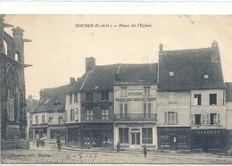 2020 - 04- YVELINES - 78 - HOUDAN - La Place De L'église - Houdan