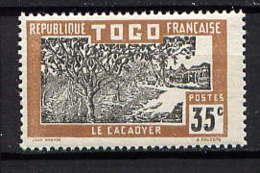 TOGO  - 133* - CACAOYER - Unused Stamps
