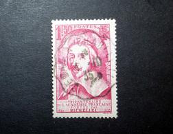 FRANCE 1935 N°305 OBL. (RICHELIEU. TRICENTENAIRE DE L'ACADÉMIE FRANÇAISE. 1F50 ROSE) - France