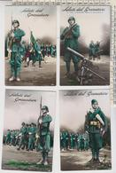 Militari Reggimenti Lotto 4 Cartoline Granatiere  No Vg - Régiments